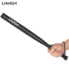 Lixada Defense Torch Emergency Led Portable Lamp Base Ball Bat Long Shape 3 Modes Led Flashlight Torch Security Emergency Light(China)