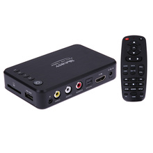 A1HD Mini Full HD 1080P TV Box Multi Media Player MKV/H.264 USB2.0 US/EU Plug 10F4 TV Box