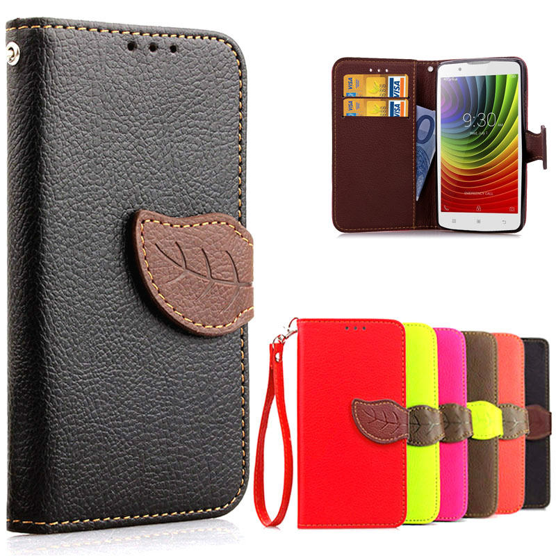 Luxury Leather Flip Case Lenovo A2010 2010 Cover Stand Wallet Phone Bag Cases Lenovo a2010-a Silicone Case Back Cover