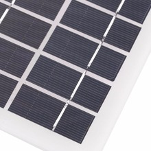 3.5W 9V Polycrystalline Solar Panel Charger Charging Battery Mini Polysilicon Solar Epoxy Plate Battery For Boat Outdoor