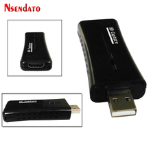 Nsendato UTV007 USB 2.0 To HDMI Video Catpure Card USB2.0 HD 1 Way Video Card Converter adapter for Windows XP/Vista/7/8/10(China)