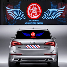 Glow Car Music Sticker Light Pretty Sound Rhythm LED Light LemonBest Activated EL Sheet Equalizer Flash Panel