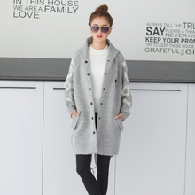 pregnant women new autumn coat and winter jacket fashion autumn sweater cardigan autumn maternity fall outerwear thickening(China)