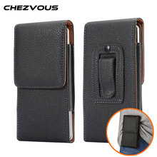 Men Fashion Belt Clip Case Pouch for Samsung S8 Luxury PU Leather litchi Pattern Hidden buckle for Samsung Galaxy S8 Plus Cover