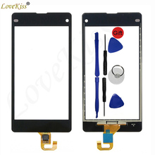 Buy Z1 Mini Touchscreen Front Panel Sony Xperia Z1 Compact Mini D5503 M51W Touch Screen Sensor LCD Display Digitizer Glass Cover for $6.64 in AliExpress store