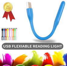Eye Protect Reading Light For Headboard Bed Book Reading Lamp Rechargeable Portable Led USB Study Light Lamp for Laptop(China)