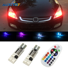 2x T10 LED W5W 194 168 Canbus Clearance Light For Honda Civic Accord Fit Crv Dio Hrv Jazz City Cr-v CB400 Hornet Cbr Stream Crf