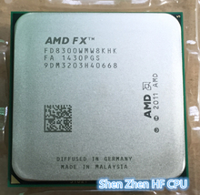 FX 8300 Eight-Core 3.2G/8M/95W Processor Socket AM3+ CPU  Bulk Package FX-8300  (working 100% Free Shipping)