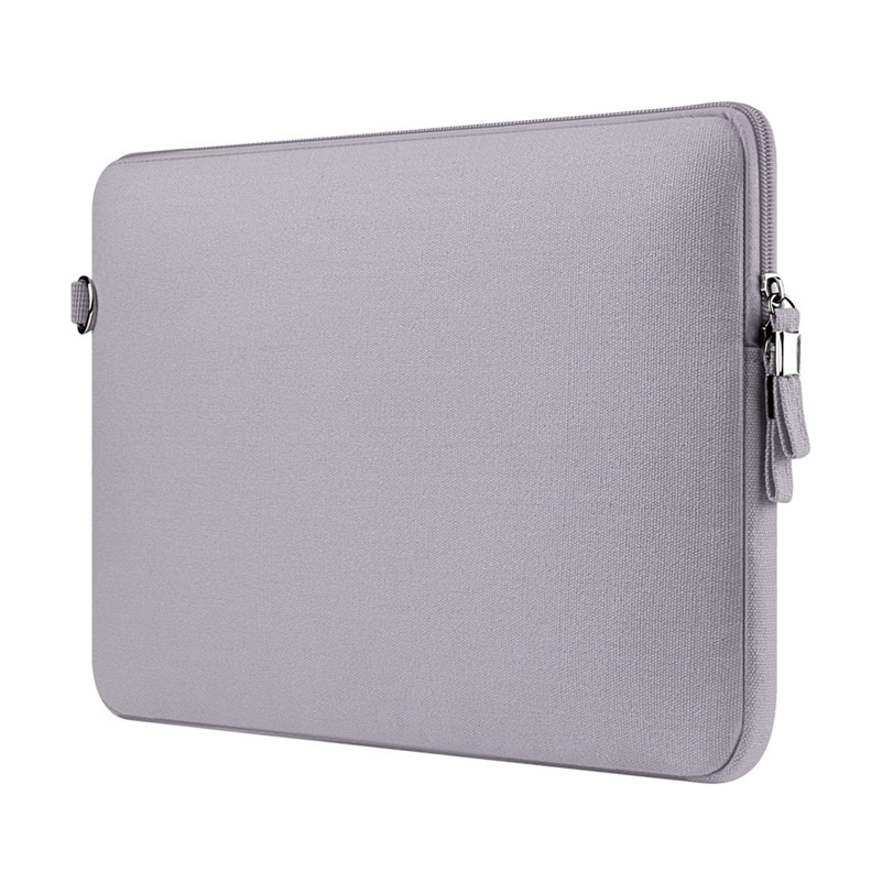 Simple Style Light Gray Liner Sleeve Laptop Notebook Bag Case Punch for Macbook Air/Pro/Retina 11.613.315.4 Canvas Waterproof<br><br>Aliexpress
