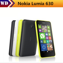Original Smartphone Nokia Lumia 630 530 Quad Core Dual Sim Window Phone ROM 8GB 5MP Camera 3G WCDMA WiFI Cell Phone