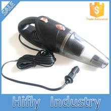 HF2003 Car Vacuum Cleaner 120W 12V Wet&Dry Portable Handheld 16.4FT(5M)Power Cord with Carry Bag Auto Light weight Cleaner
