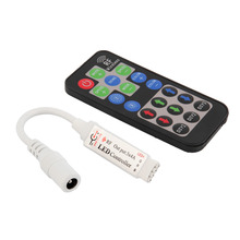 RF 19 Key Wireless Remote Control Remote Controller DC For RGB 3528 5050 LED Strip Light Promotion(China)