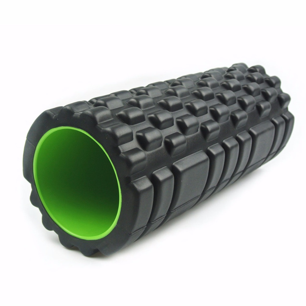 Yoga Pilates Foam Roller 34x14 EVA Crossfit Foam Muscle Massage Roller Home Gym Fitness Equipment rolo massagem sport tools<br><br>Aliexpress