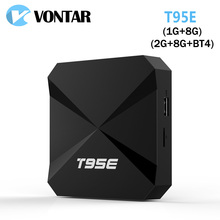 5pcs VONTAR T95E Rockchip RK3229 Quad-Core Andorid 6.0 TV BOX 2.4GHz WiFi Google Play Store Pre-installed Media Player IPTV Box(China)