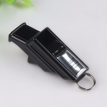 "high quality ""Gold"" Big Sound Whistle Seedless Plastic Whistle Professional Soccer Basketball Referee Whistle"