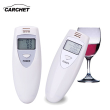 CARCHET Alcohol Tester Digitale Portable LCD Alcohol Tester Breath Breathalyzer Breathalizer Detector(China)