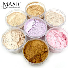 IMAGIC Maquillaje del Polvo de Cara Polvo Libre Natural Finish Loose Powder Cara Marca de Cosméticos(China)