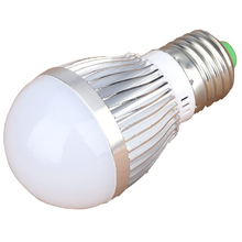Energy Saving High Brightness Light 110V-245V 3W E27 LED Bubble Ball Globe Lamp Bulb(China)