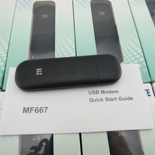 ZTE MF667 USB Modem - 21.6Mbps HSPA ZTE MF667 Internet Key Dongle(China)