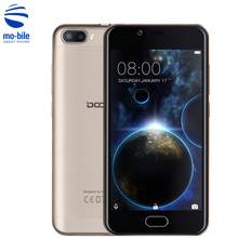 In Stock DOOGEE Shoot 2 3G Smartphone 5.0'' Android 7.0 MTK6580 Quad Core 1.3GHz 5.0MP Dual Rear Cameras Touch ID Mobile Phone