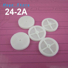 Plastic pulley gear 242A strap round ship model automobile race diy accessories 24mm pulleys 1.95mm shifts