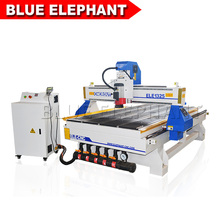 Blue Elephant DSP Control System CNC Wood Engraving Router, Air Cooling Spindle CNC Carving Machine, Vacuum Table CNC Machine(China)