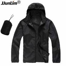 Hot Spring Summer Waterproof Wind Coat Lovers Rain Jacket Men Jacket Mujer Quick-Dry Cycling Ultra Light Sport Jacket Women(China)