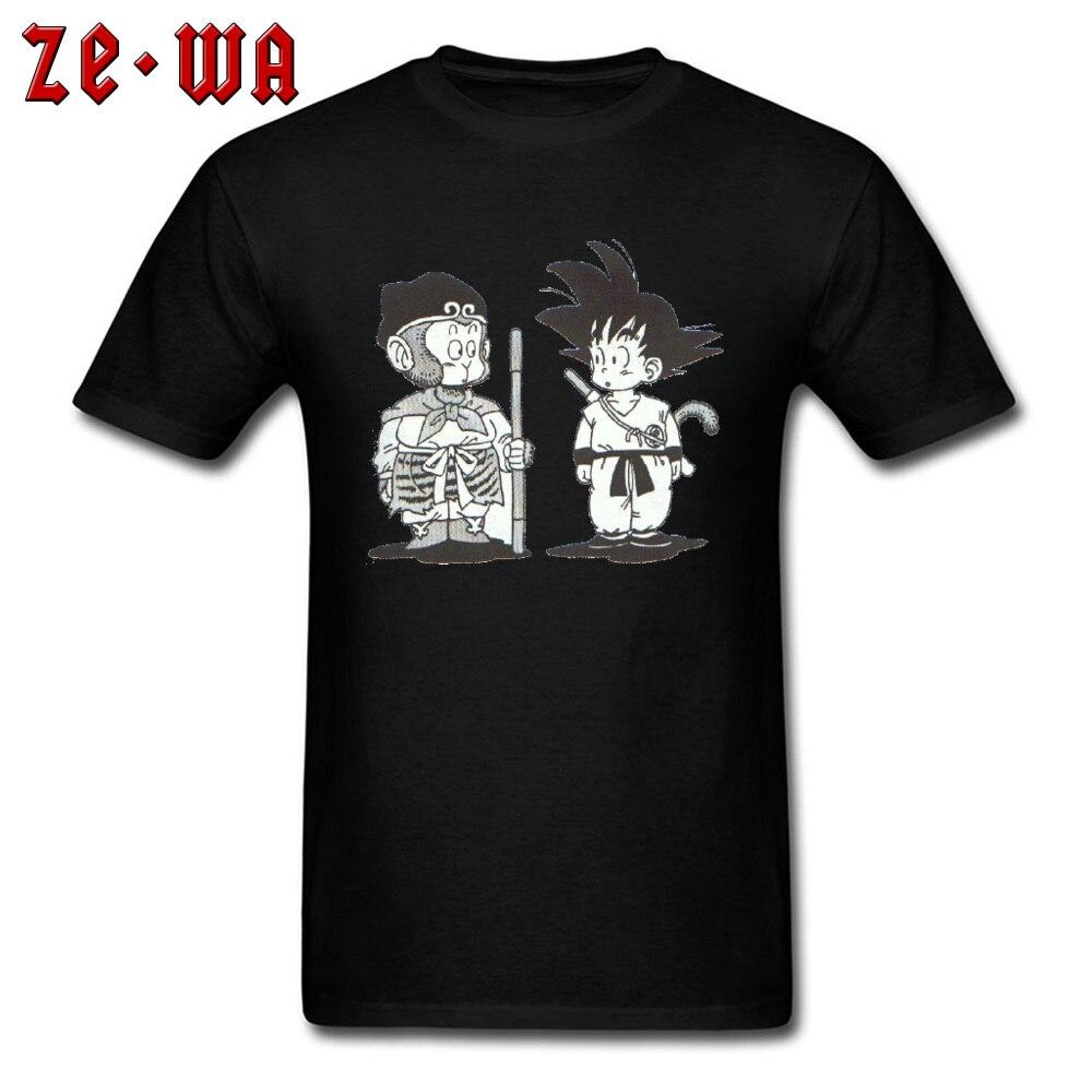 Casual3D Printed Short Sleeve T Shirt Summer/Fall Hot Sale O-Neck 100% Cotton Tops & Tees Men Tshirts Goku  Top Quality Goku black