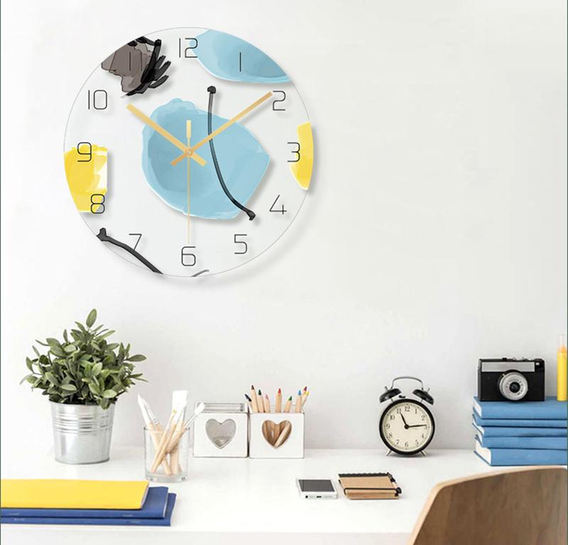 Clocks Home Decor Bathroom Clock Wall Clock Silent Clock Mechanism Silent Wall Clock Wall Clock Wood Digital Wall Clock Led 3d Led Wall Clock Barber Shop Modern (10)