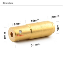 9MM(Light Pulse 70MS) Laser Ammo,Laser Bullet, Laser Cartridge for Dry Fire Training and Shooting Simulation(China)