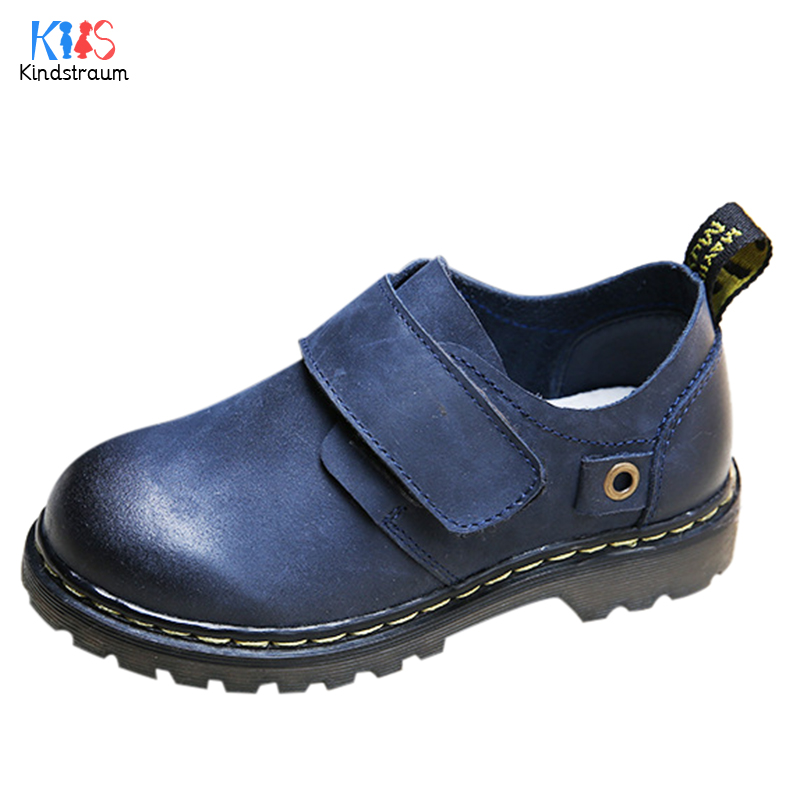 Children Leather Shoes Boys Girls 2017 New Genuine Leather Non-Slip Loafers Kids Flats Baby Toddler Casual Comfy Footwear,EJ193(China (Mainland))