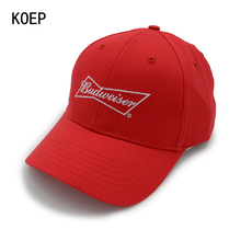 KOEP Wholesale Cotton Baseball Caps Letters High Quality Cap Men Women Customer Design ICON Logo Hat Red Cap Casquette Dad Hats(China)