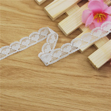 Hot LOVE HEART Lace Trim 400 yards 13mm White Gorgeous Cheap Lace Fabric Trim Ribbon DIY Garment Sewing Accessories L192