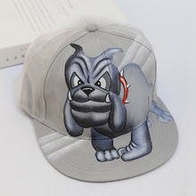 Cool Fashion Man Animal Baseball Cap 3D Dog Coloured Printing Hiphop Caps Sporting Motorcycle Cap Vivid Design Cartoon Casquette