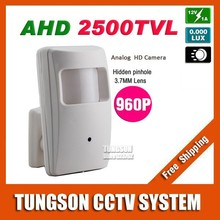 NEW Product HD 1.40MP AHD 2500TVL Pinhole 3.7MM Lens 1280*720P Video Surveillance Security CCTV Camera Free Shipping