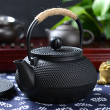 Japan Southern Cast iron kettle old iron pot shells Japanese tea pots health boiler scale iron pot 900ml(China)