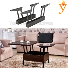 Metal Furniture Hardware Parts Small Size Extendable Life Top Up Coffee Table Mechanism B09