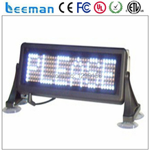 led display for taxi,led car movign message screen sign board,led taxi display sign for car rear window panel advertising