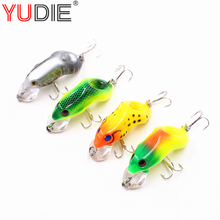 1Pcs Diving Frog 5.5cm 8.5g Hard Lure For Sea Carp Fly Fishing Spinner Bait Accessories Jig Hooks Tool Wobblers Fish Sport lures(China)