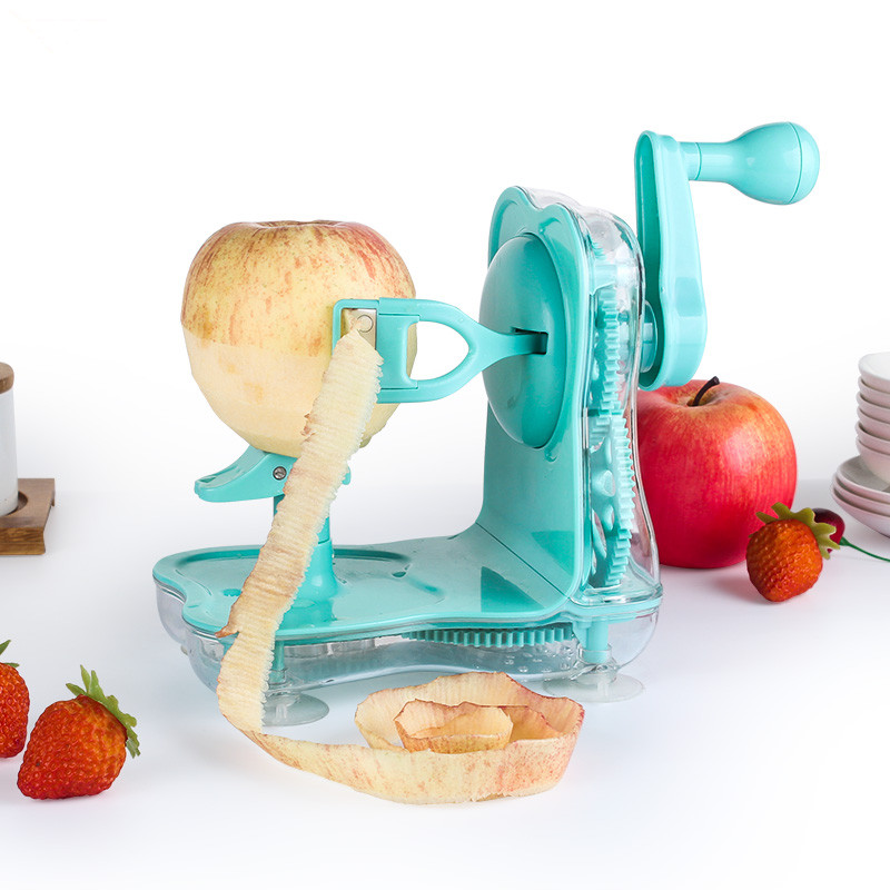 Rotary Fruit Peeler Multifunctional Apple Potato Peeler Rotary Vegetable Fruit Cutter For Kitchen Tool <br><br>Aliexpress