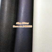 3PCS 21x29cm Faux Leather Fabric Embossed Croco Grain Vintage Leather Pu leather Fabric For Bow DIY GM084(China)