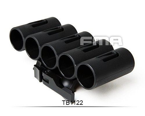 TB-FMA 5 Round Shotgun Shell Pouch Additional Gauge Cartridge Ammo Holder Airsoft Paintball Hunting Quick Release Picatinny Base<br><br>Aliexpress