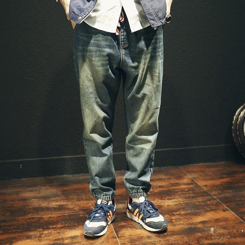 2017 Jeans Stretch Hommes Famous Brand Men Ripped Jeans Top Fashion Hole Jeans Men, Slim Retro Japanese Denim Joggers Size XXXlОдежда и ак�е��уары<br><br><br>Aliexpress