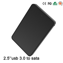 6Gbps Fast Reading Speed 2.5 Hdd Enclosure Usb 3.0 Screwless 1tb Hard Disk Sata usb 3.0 Hd Externo Hdd Caddy Hard Drive Case(China)