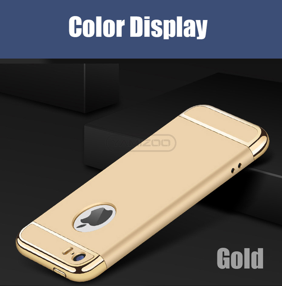 YAMIZOO 5s For iPhone se 5 Case 360 protection Phone Cases On Luxury Full Hard Plastic Coque Back Cover For iPhone 5s se 5 Case (9)
