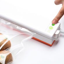 Eworld Electric Vacuum Food Sealer Automatic Vacuum Packing Plastic Sealing Machine Household Kitchen Appliances QH-01