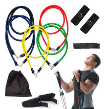 Buy Mounchain Bingirl 11Pcs Resistance Bands Yoga Pilates Crossfit Fitness Equipment Elastic Pull Rope Workout Latex Tube Band for $14.20 in AliExpress store