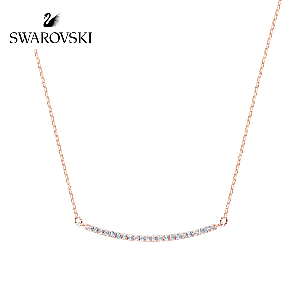 Original Genuine Swarovski Only Necklace Fashion Lines pendants necklaces Crystal Necklace Women Jewelry5464129 5470555