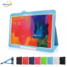 Buy Hot Samsung Galaxy Note 10.1 P600 P601 P605 Tablet PU Leather Cover Samsung Galaxy Tab Pro 10.1 T520 T521 T525 Case+Pen for $7.69 in AliExpress store