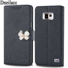 Dneilacc For Samsung Galaxy S2 I9100 SII Phone Case PU Leather Flip Stand Wallet Fundas Cover For Samsung Galaxy S2 I9100 SII(China)